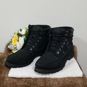 Timberland's Oakwell 7-Eye Moc Toe Boots